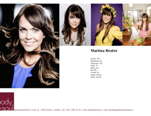 Model und Testimonial Martina Reuter