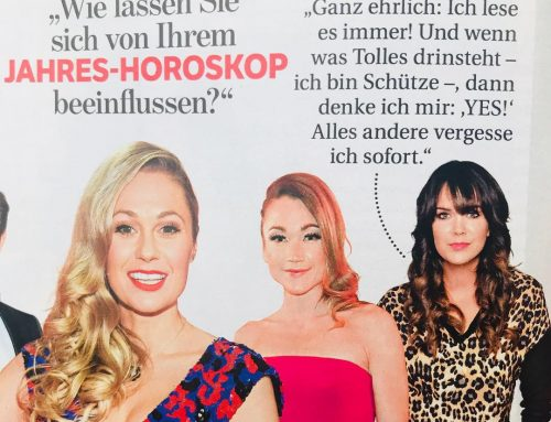 Martina Reuter in der BUNTE