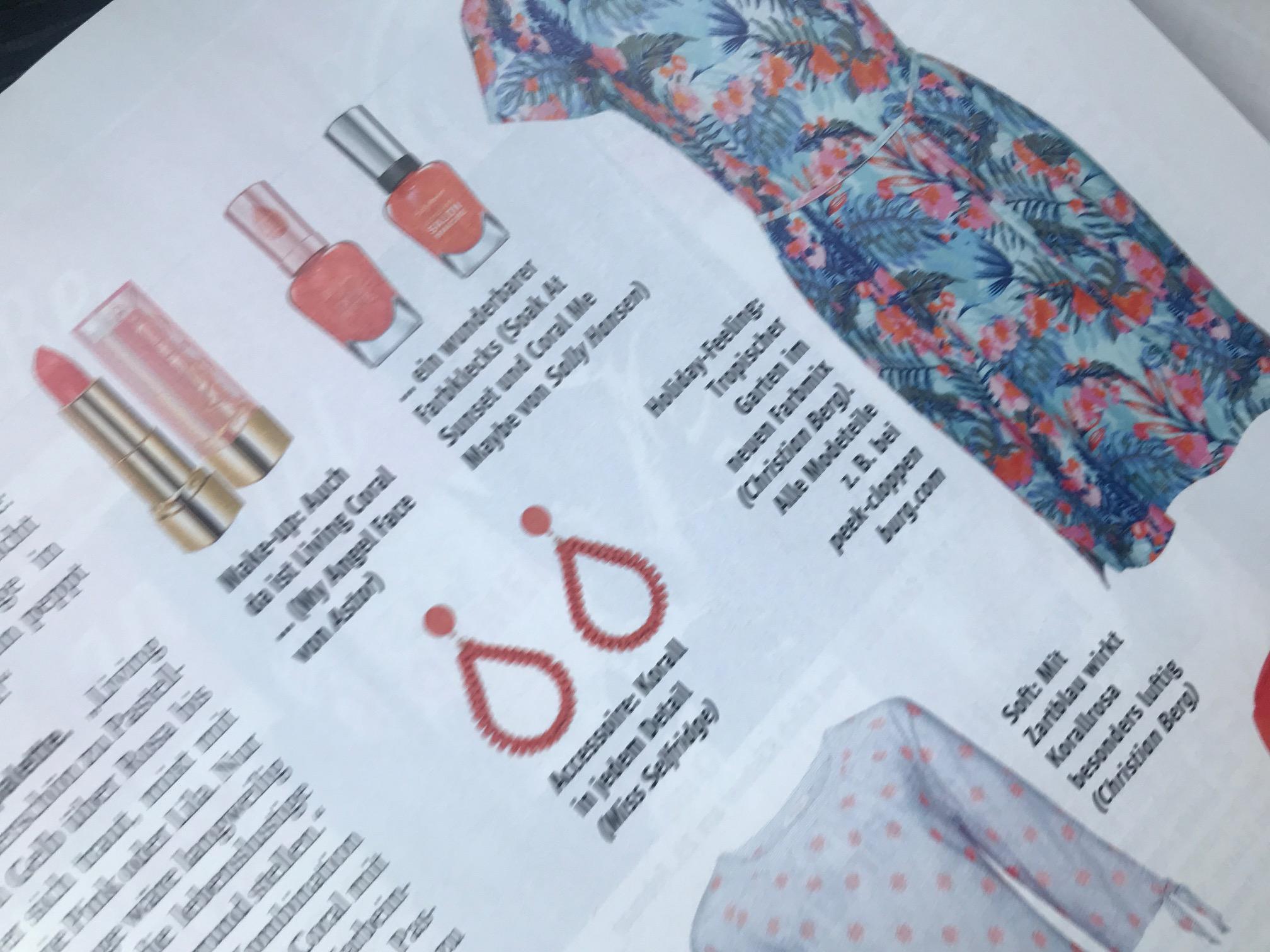 """Die schönsten Modeteile zur Farbe des Jahres """"Living Coral"""