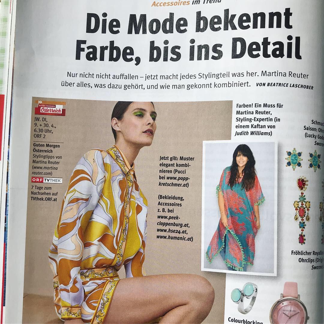 Neu Orf Nachlese Mit Tollen Modeseiten By Martina Reuter