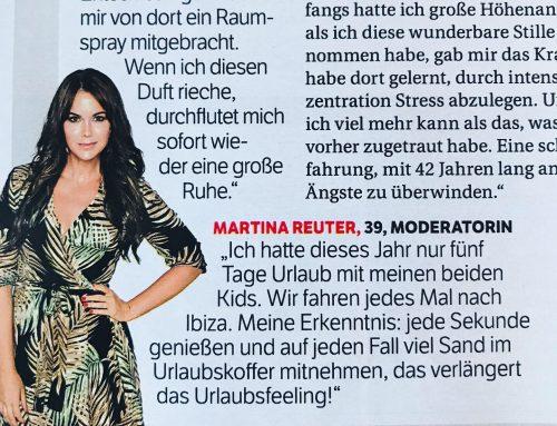 Martina Reuter jetzt in der BUNTE
