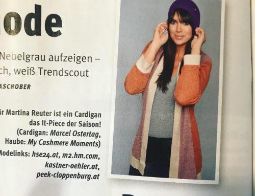 Meine Modeseiten in der ORF Nachlese Oktober 2019