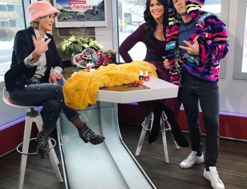 """Mode mit Martina Reuter bei """"Guten Morgen Österreich"""" ORF 2 am 20.11.2019 aus Osttirol"""
