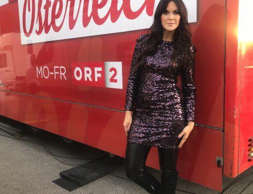 """Mode mit Martina Reuter bei """"Guten Morgen Österreich"""" ORF 2 am 27.11.2019 aus Salzburg"""