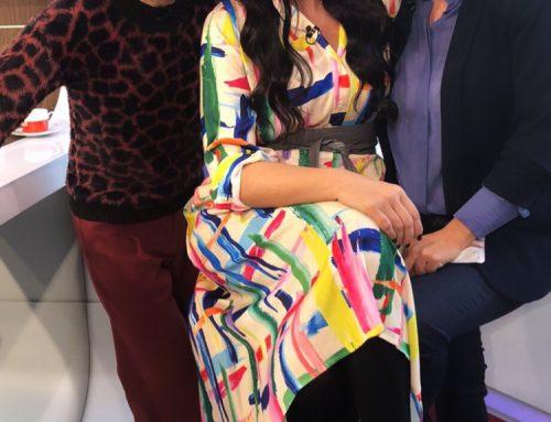 """Mode mit Martina Reuter bei """"Guten Morgen Österreich"""" ORF 2 am 22. Januar 2020 in Tirol"""