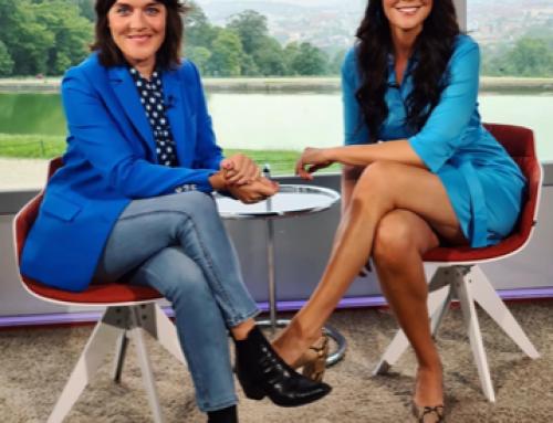 """Stylingexpertin Martina Reuter bei """"Guten Morgen Österreich"""" in ORF 2 am 10.06.2020"""