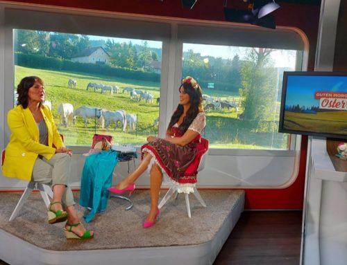 """Stylingexpertin Martina Reuter bei """"Guten Morgen Österreich"""" in ORF 2 am 08.07.2020"""