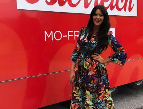 """Stylingexpertin Martina Reuter bei """"Guten Morgen Österreich"""" in ORF 2 am 29.07.2020"""