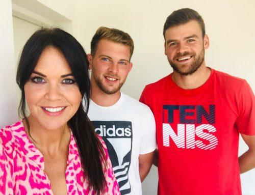 Reuterin schaut hin – Fashiontalk mit Tennistrainer Nenad Vladusic und Mischell Mikulan